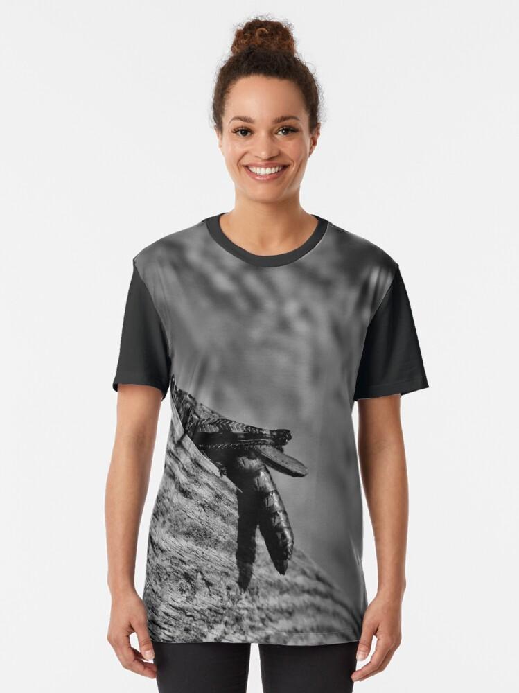 Alternate view of Magic Grasshopper By Yannis Lobaina Graphic T-Shirt