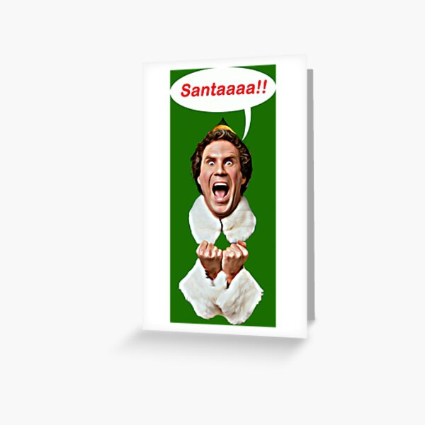 Santaaa!! Greeting Card
