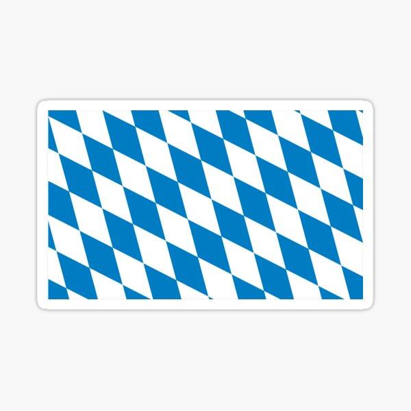 flag of bavaria Sticker