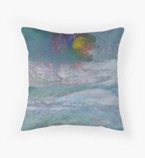 Cloud Moon Throw Pillow