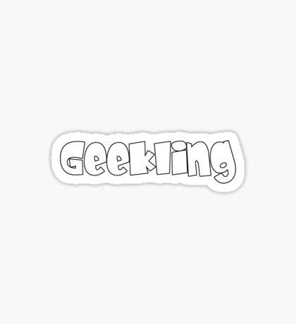 Geekling Sticker