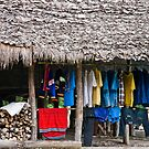 Hill Tribe Laundry by phil decocco