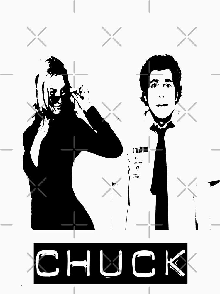 Chuck and Sarah | Unisex T-Shirt