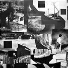 Black Square 3cm x 3cm. by Andy Nawroski