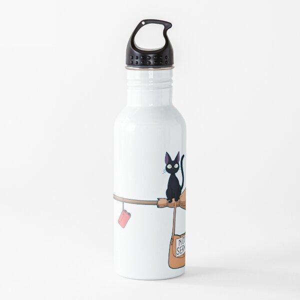 Kiki's Delivery Service Framed Art Print Water Bottle