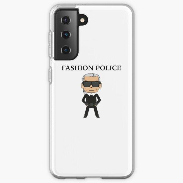 Fashion police Coque souple Samsung Galaxy