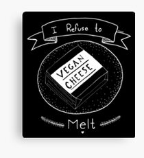 Vegan Cheese Canvas Print