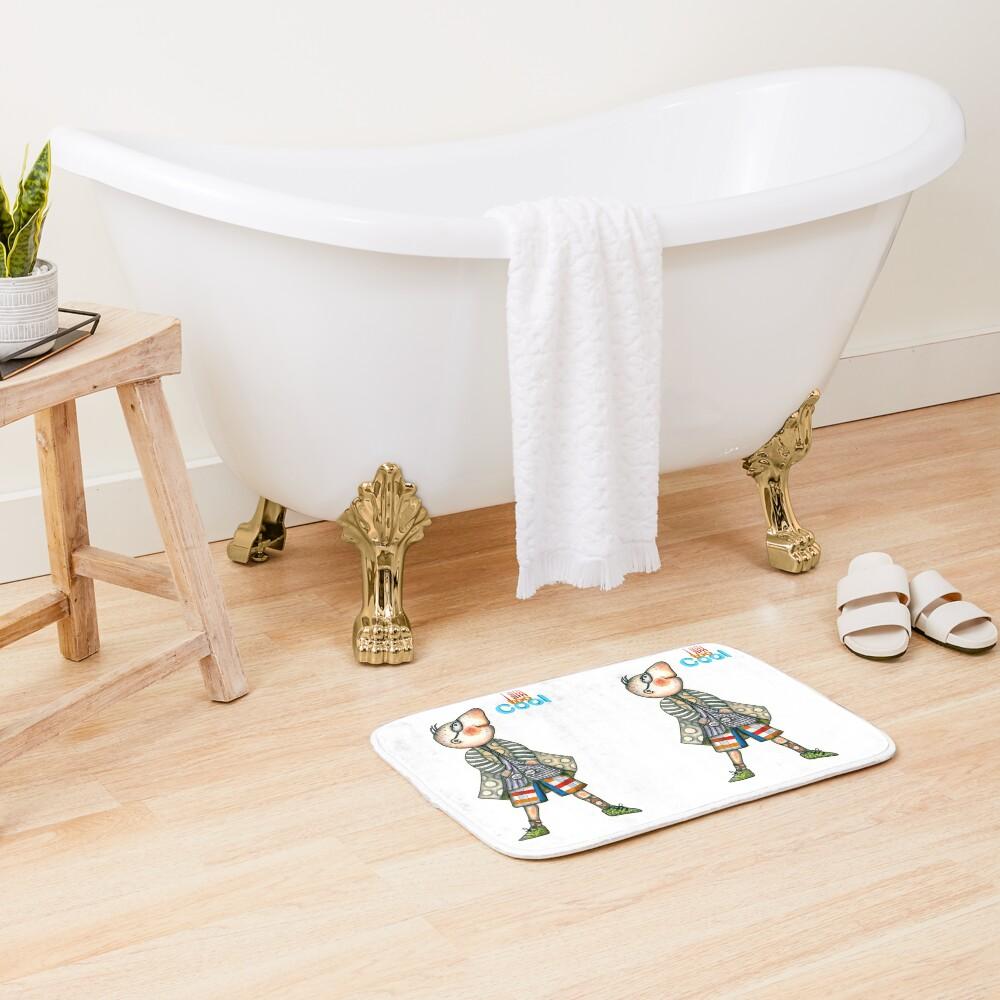 Fashion Digger - I am too Cool Bath Mat