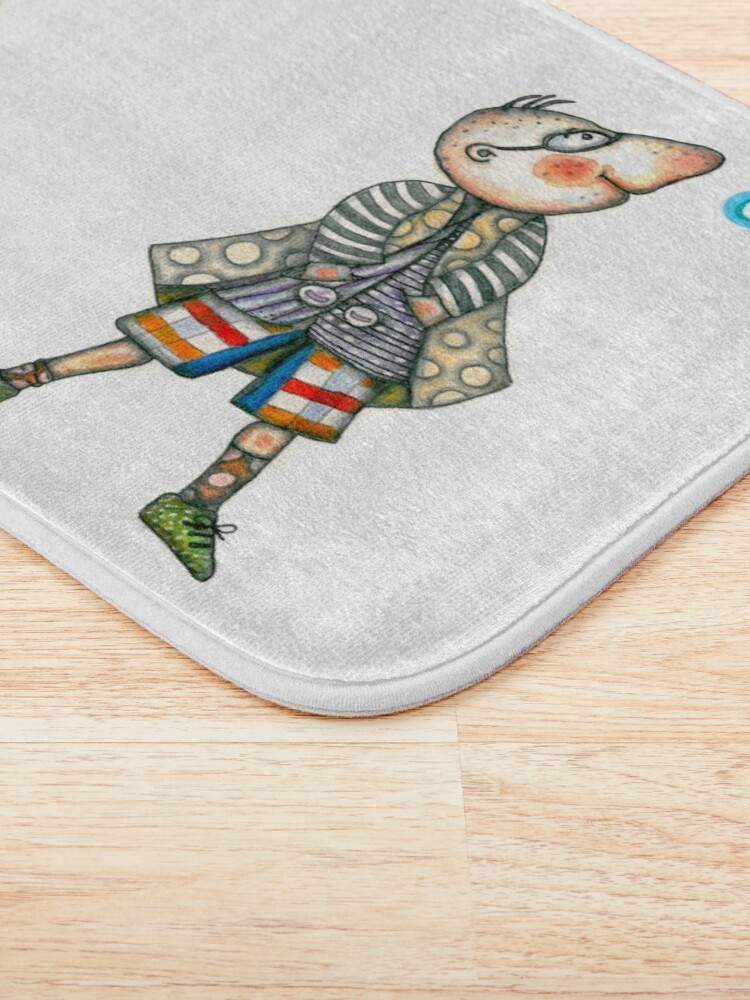 Alternate view of Fashion Digger - I am too Cool Bath Mat