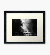 Paradox Waterfalls Framed Print