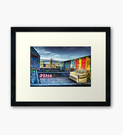 Roof Art Framed Print