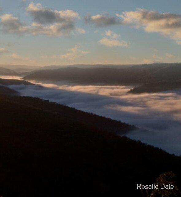 Daybreak ~ Hill End NSW by Rosalie Dale