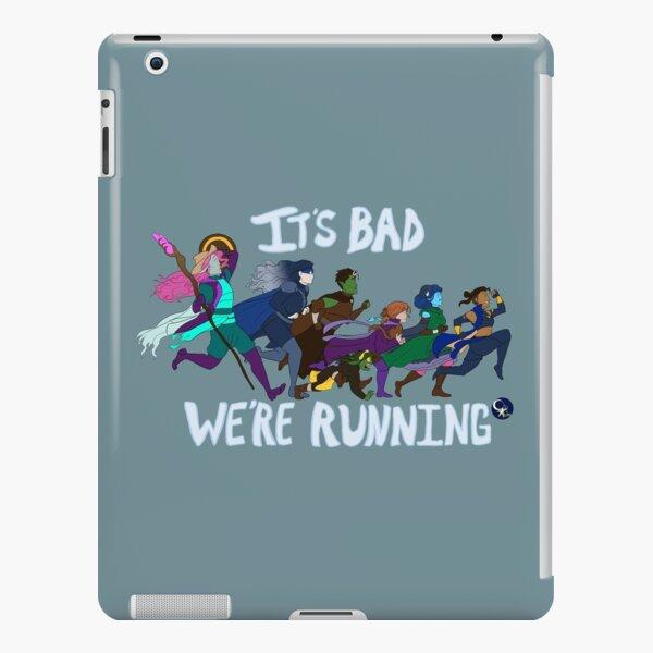 It's Bad, We're Running iPad Snap Case