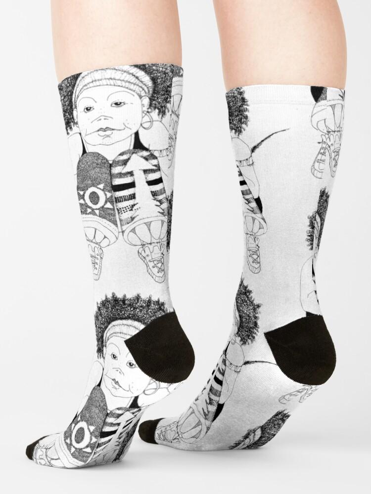 Alternate view of Hip Hop Muse Socks