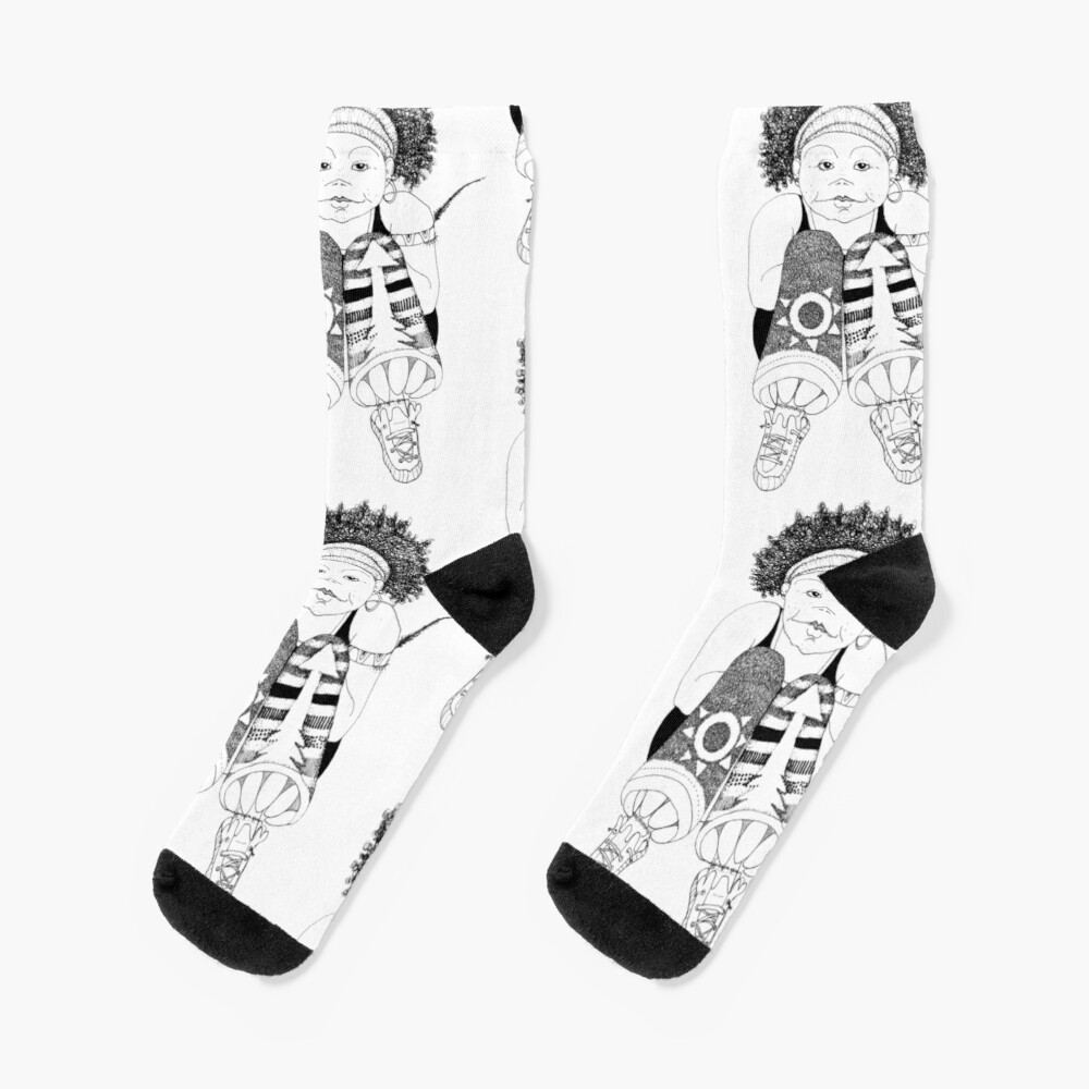 Hip Hop Muse Socks