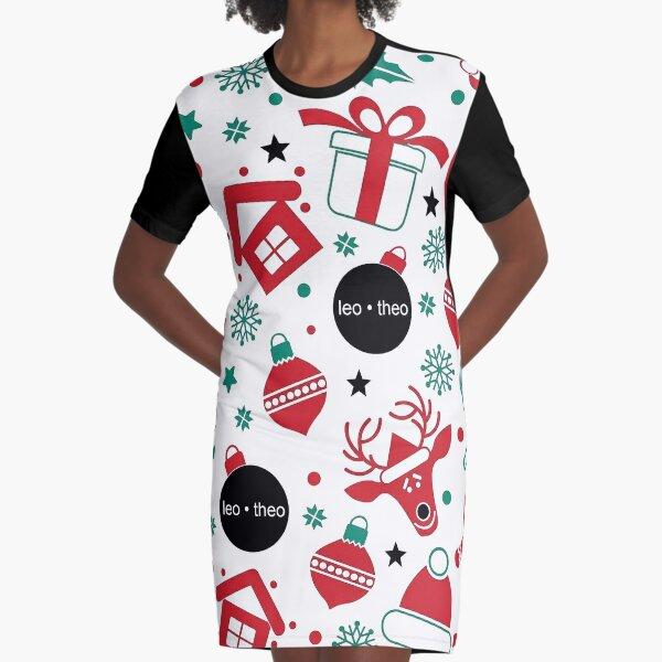 leo • theo | X-mas Graphic T-Shirt Dress