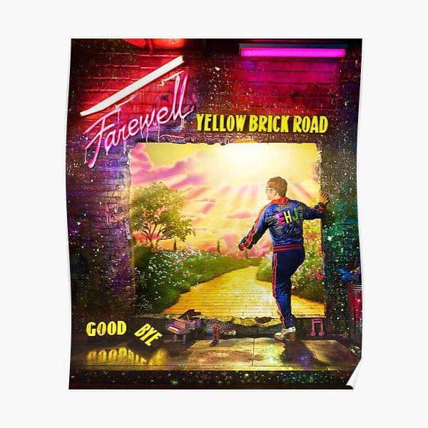 threejon Yellow Australian American Tour 2019 Poster