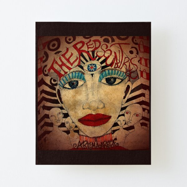 The Red Soundtracks Canvas Mounted Print
