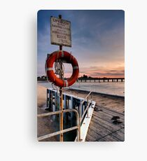 LIFE BUOY Canvas Print