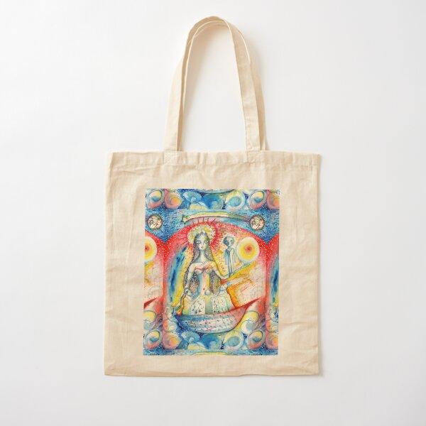 La Virgen Cotton Tote Bag