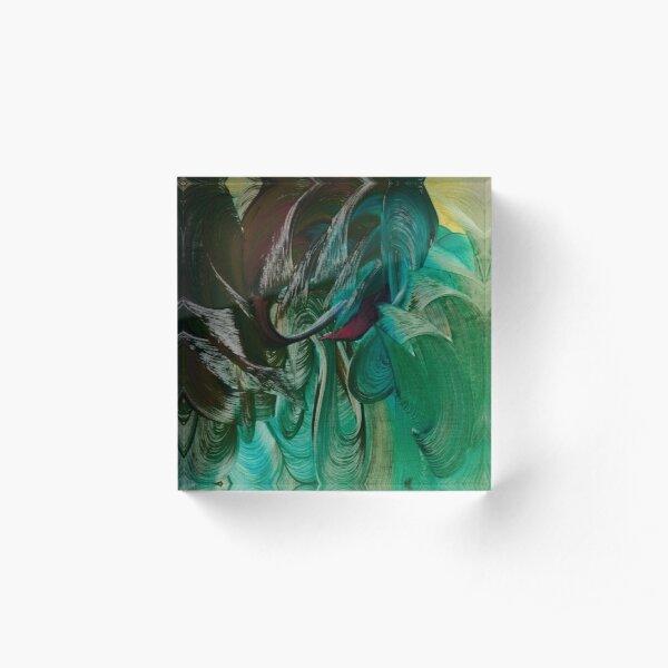 Water Goddess Acrylic Block