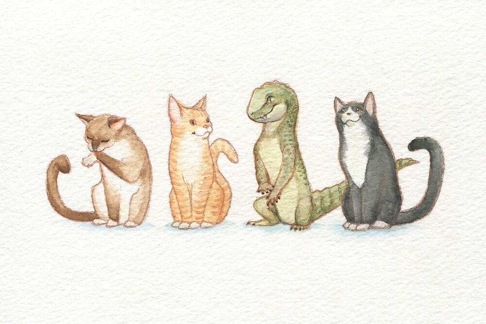 Cat Croc by Amaruuk