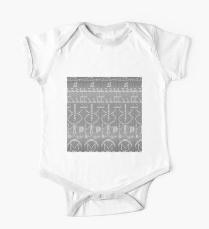 The Arecibo Message 0001 Kids Clothes
