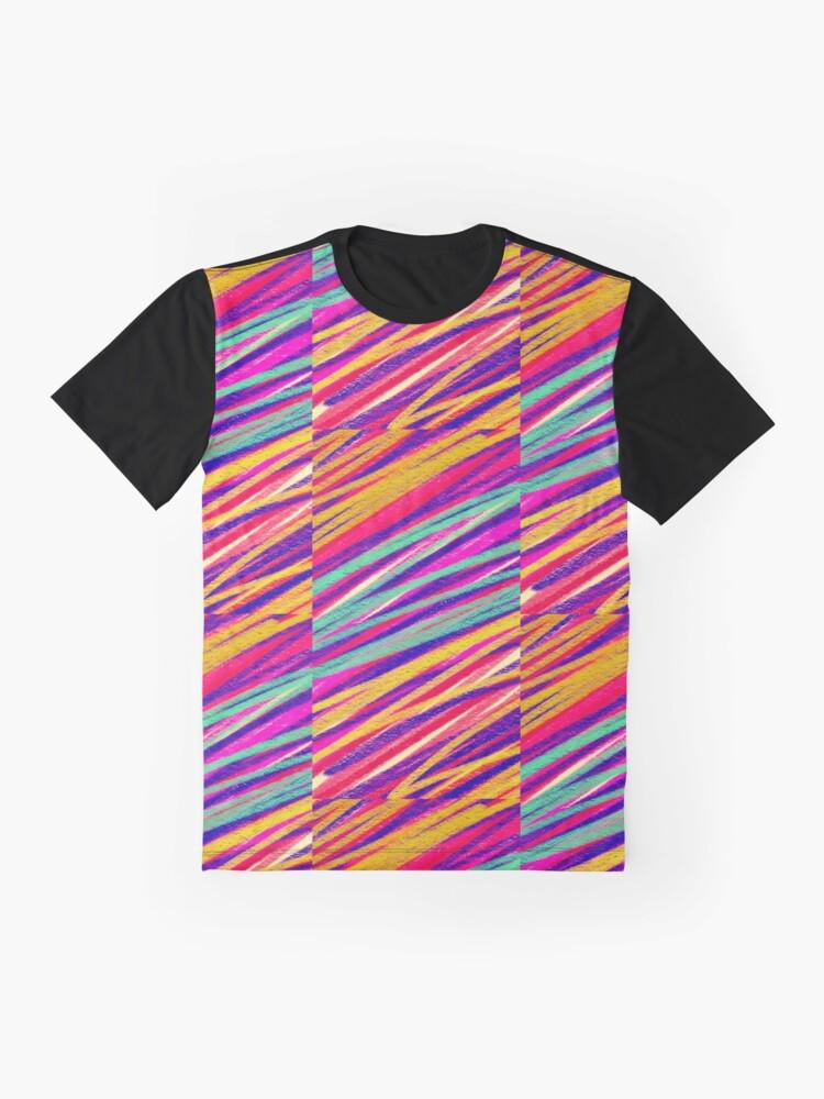 Alternate view of Rainbow Dream Graphic T-Shirt