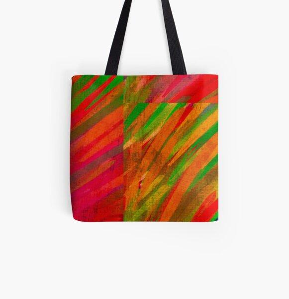 "Trae ""Color"" a tu vida Bolsa estampada de tela"