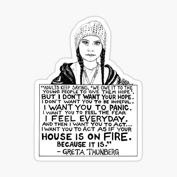 Greta Thunberg  Sticker