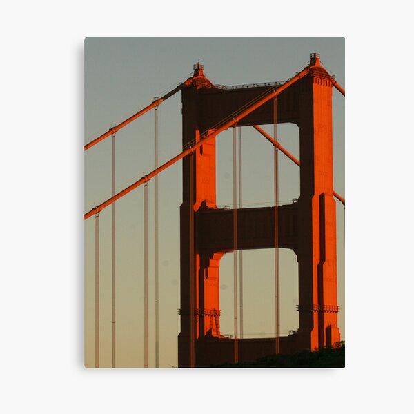 North Tower, Golden Gate Bridge Canvas Print