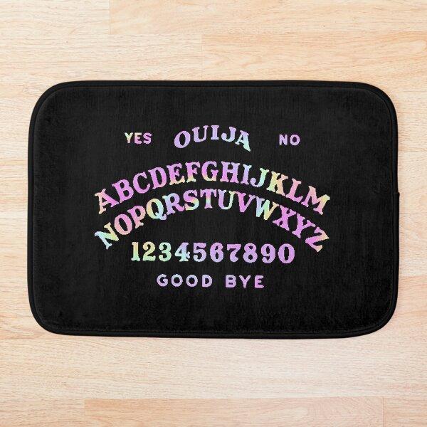 Multicolored Ouija board Bath Mat