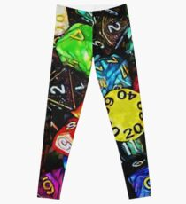 """Can We Just Play D&D"" Leggings"