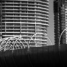 waterfront skyline on the move by geof