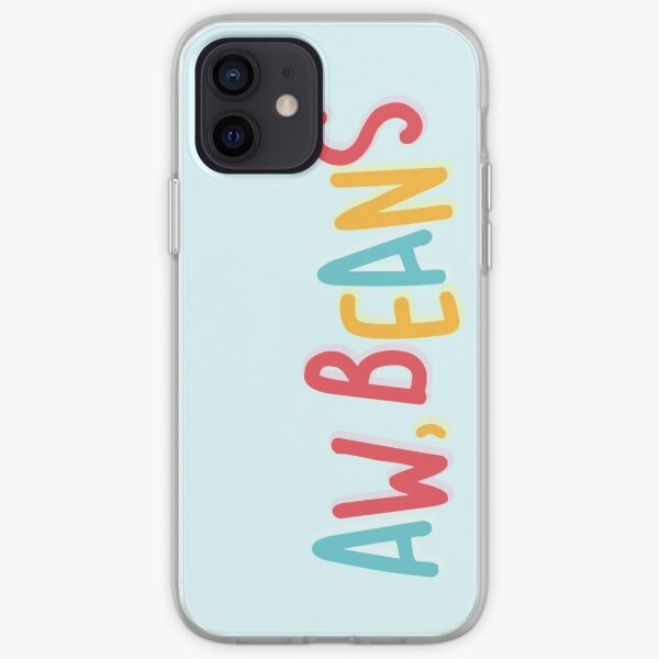 Aw, Beans iPhone Soft Case
