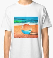 Lensball at the beach Classic T-Shirt