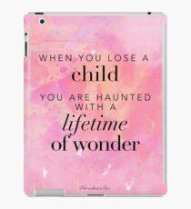 Wenn du ein Kind verlierst ... iPad-Hülle & Klebefolie