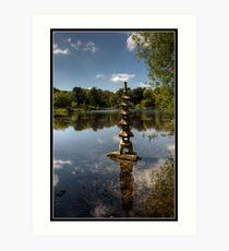 Mountstewart Lake Art Print