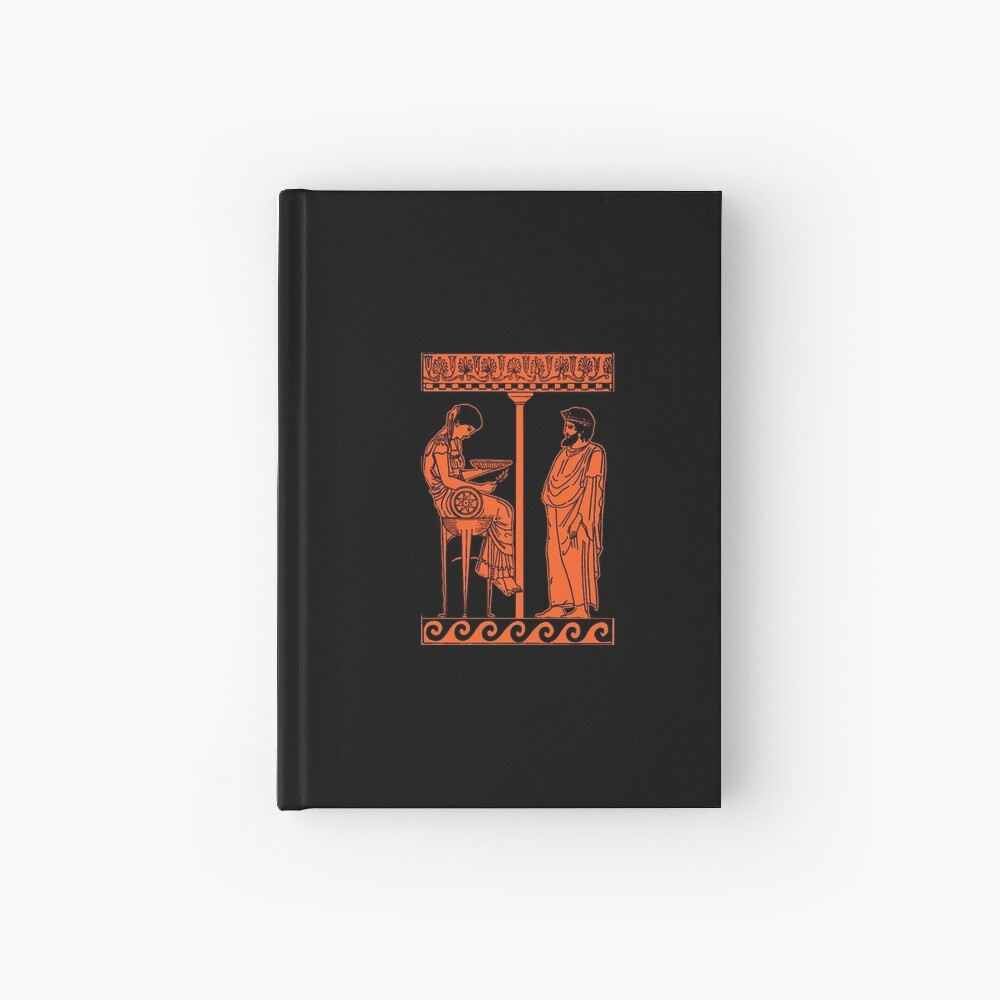 Pythia of the Oracle of Delphi Hardcover Journal