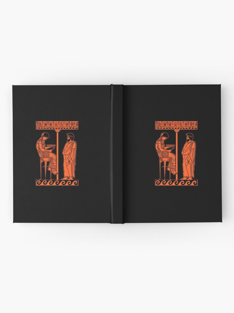 Alternate view of Pythia of the Oracle of Delphi Hardcover Journal