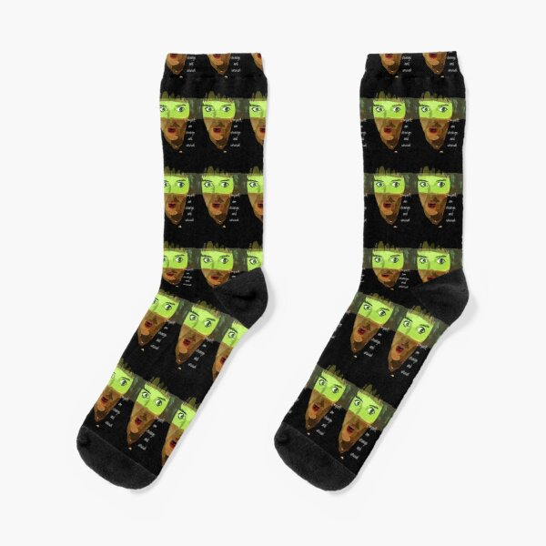 Beetlejuice Lydia Deetz Strange and Unusual  Socks