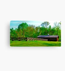 Greener on the other side Canvas Print