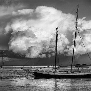 Storm Clouds - Batemans Bay NSW by pcbermagui