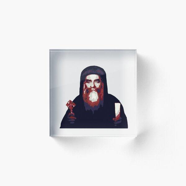 Pope Kyrillos VI  Acrylic Block