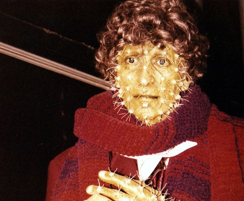 Tom Baker (as Doctor Who) waxwork at Madame Tussauds  by Tony Worrall