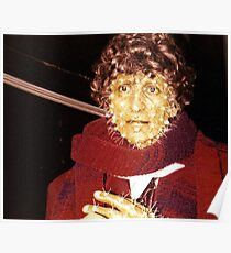 Tom Baker (as Doctor Who) waxwork at Madame Tussauds  Poster