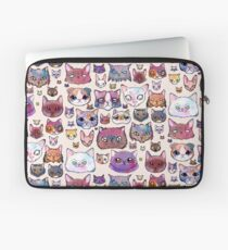 Feline Faces Laptop Sleeve