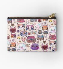 Feline Faces Studio Pouch