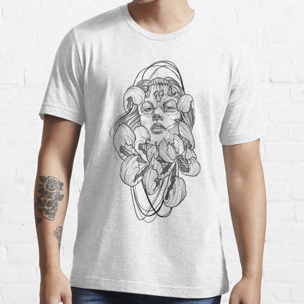 Woman skull flower tattoo  Essential T-Shirt