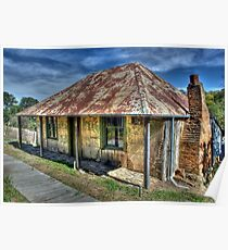Beyers Cottage- Hill End Poster